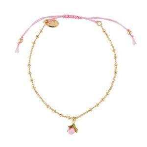 Les Nereides Rosebud Bracelet New